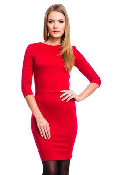 Красное облегающее платье Mondigo