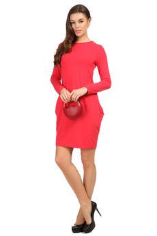 Платье с рукавами и карманами Mondigo