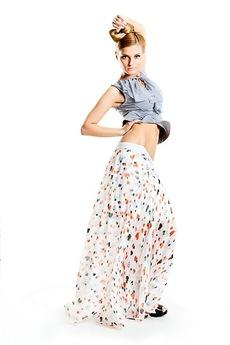 Шифоновая юбка в пол Авторская одежда SUGAR