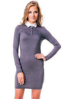 Платье с воротничком в школьном стиле Mondigo