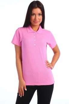 Женская футболка поло розовая Натали