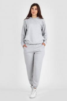 Серый женский спортивный костюм Милана