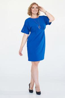 Ярко-синее платье Angela Ricci со скидкой