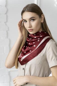 Платок женский бордовый MYLIKE