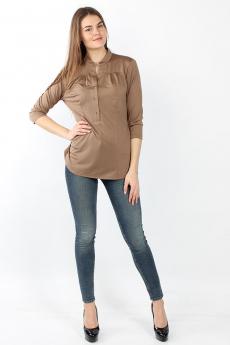 Коричневая блузка  Bast